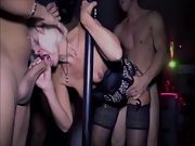 Both Anna and Mary have a lot of sex in the local adult club with the men there