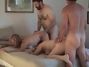 Mary-ann is a sexy swinger wife with a hot body and hot friend